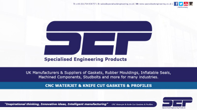 cnc waterjet & knife cut gaskets & profiles