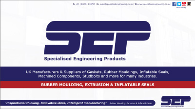 rubber moulding extrusion & inflatable seals
