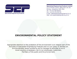 sep environmental policy