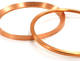 brass machined rings