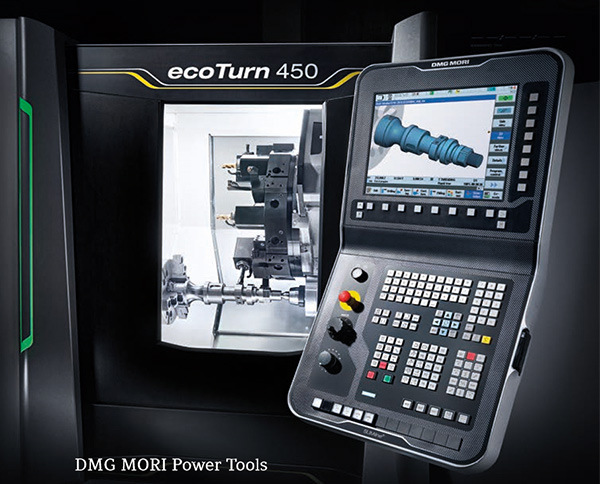 dmg ecoturn450 mill turn lathe