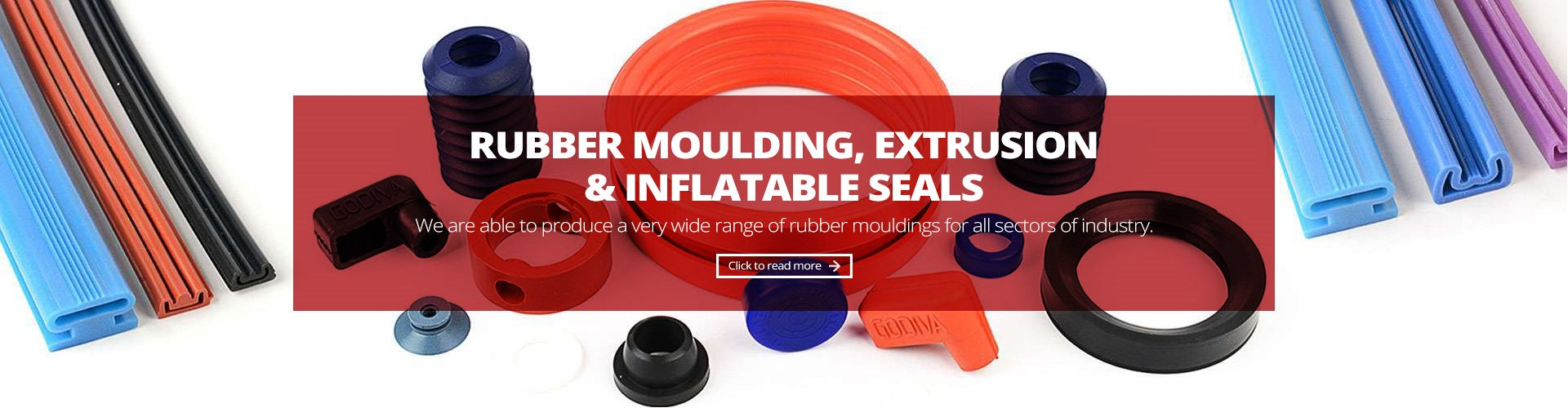 rubber moulding, extrusion and infllatable seals